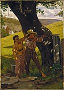 John George Brown - A Sure Shot - Google Art Project.jpg