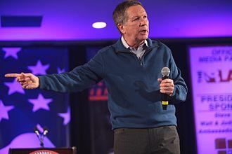 John Kasich - Kasich speaking in January 2016