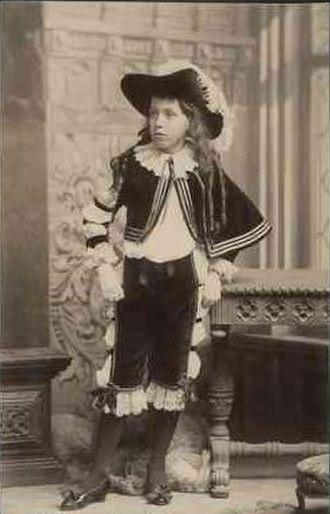 John Lavington Bonython - A young John Lavington Bonython in 1887