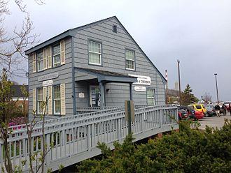 Port Jefferson, New York - c.1682 home of John Roe, the first settler in lower Port Jefferson