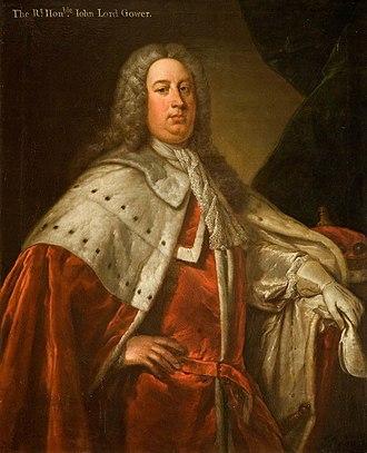 John Leveson-Gower, 1st Earl Gower - Image: Johnleveson