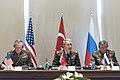 Joseph Dunford, Hulusi Akar and Valery Gerasimov 170307-D-PB383-021 (33179920601).jpg