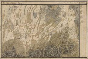 Șercaia în Harta Iosefină a Transilvaniei, 1769-73