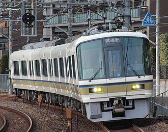 221 series - The first refurbished set, K12, in December 2012