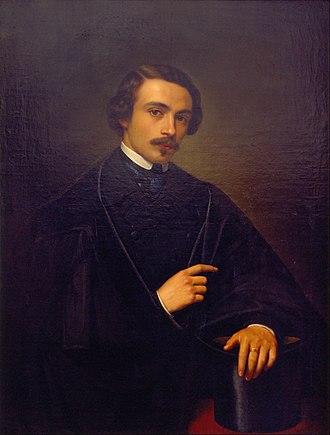 Juan Cordero - Self-portrait (1847)