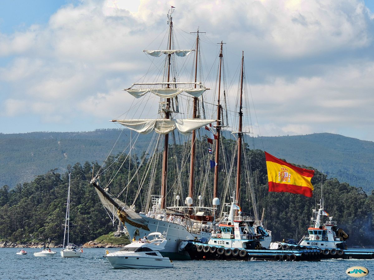 Spanish ship Juan Sebastián Elcano - Wikipedia