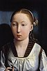 Portrait of a girl believed to be Catherine of Aragon