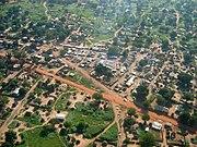 Juba Sudan aerial view