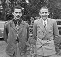 Jules Maenen and Nico van Est 1954.jpg