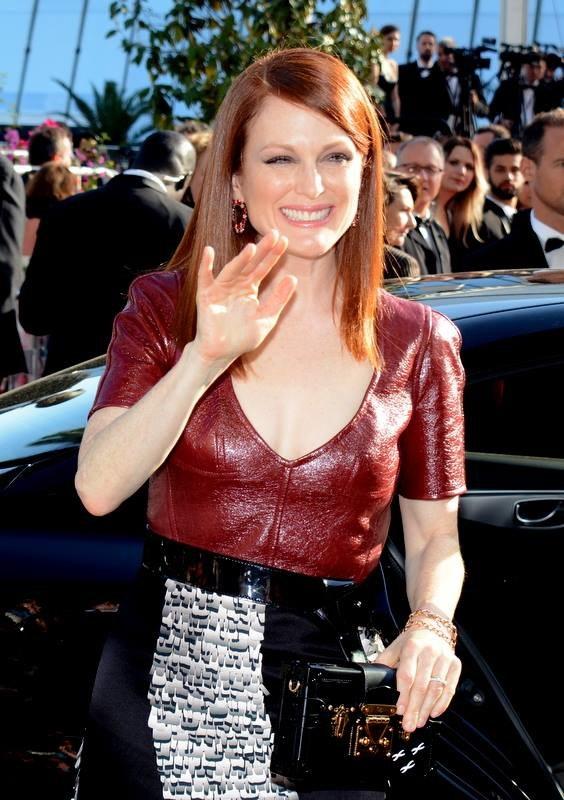 Julianne Moore Cannes 2014 2