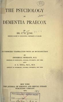 Jung - The psychology of dementia praecox.djvu