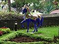 Kék ló SzentKatalin parkban.JPG
