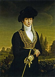 Queen Louise in a riding habit, c. 1810, by Wilhelm Ternite (Source: Wikimedia)