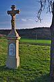 Kříž u silnice na Nenkovice, Želetice, okres Hodonín.jpg