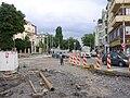 Křižovatka Špejchar při výstavbě tunelu (01).jpg