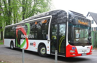 MAN Lion's City - Lion's City Hybrid in Cologne