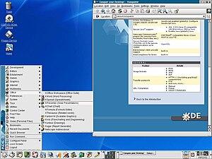 K Desktop Environment 3 - K Desktop Environment 3.0
