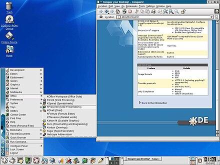 K Desktop Environment 3 Wikiwand