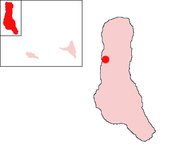 Location of Hahaya-Aéroport on the island of Grande Comore