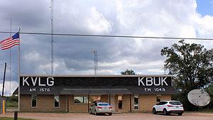 KBUK - Image: KVLG and KBUK Studios in Fayette County, Texas south of La Grange
