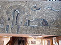 K building. Corridor's mosaic (R). - 33 Villányi út, Budapest.JPG