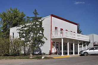 National Register of Historic Places listings in Jackson County, South Dakota - Image: Kadoka SD Pearl Hotel