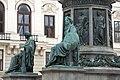 Kaiser Franz-Denkmal Hofburg Wien 2015 Sitzfiguren Stärke Gerechtigkeit 2.jpg