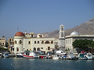 Kalymnos - Pothia, capital of the island