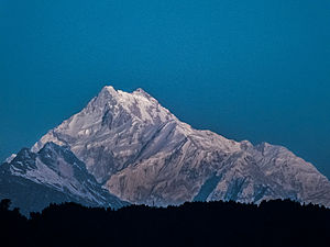 Seven Third Summits - Kanchenjunga is the world's third highest mountain ('K3')