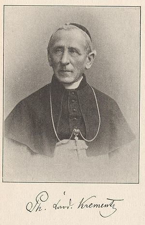 Philipp Krementz - Image: Kardinal Krementz Köln JS
