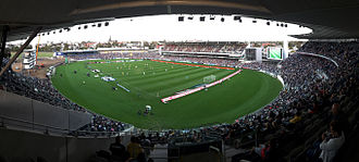 Kardinia Park (stadium) - A-League match between Melbourne Victory and Central Coast Mariners, January 2016