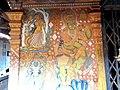 Karikkkad subrahmanya temple- wall painting left.JPG
