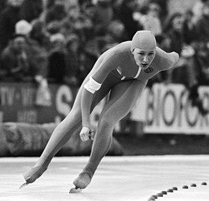 Karin Enke - Karin Enke at the European Championships in 1983