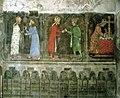 Karlštejn Castle - church of the Virgin - southern wall - relic scenes.jpg