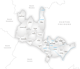 Oron District former district of the canton of Vaud