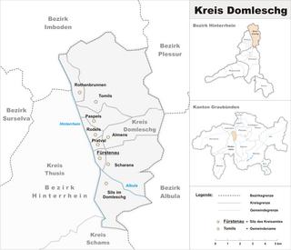 Domleschg (Kreis) Sub-district in Switzerland