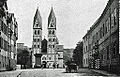 Kastorkirche Kastorstraße Koblenz 1900.jpg