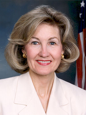 Official photograph of Kay Bailey Hutchison, U...