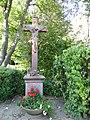 Kelkheim-Münster, Friedhof, Wegekreuz.JPG