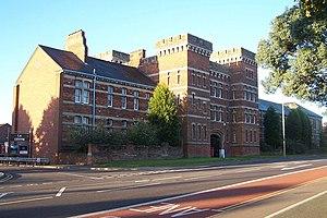 Kempston Barracks - Kempston Barracks keep