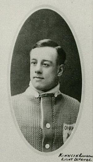 Ken Randall - Randall with the Toronto Arenas.