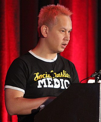 Monument Valley (video game) - Ken Wong, the lead designer for Ustwo, at the 2015 Game Developers Conference