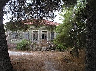 Mantzavinata - A pre-earthquake villa at the entrance of Mantzavinata