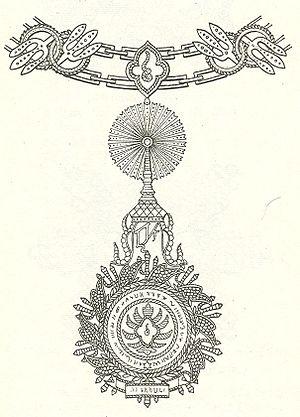 Order of the Royal House of Chakri - Image: Keten van de Orde van Chakri Ie Graad