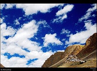 Spiti Valley - Image: Keymonastery