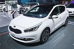 Kia Cee'd - Mondial de l'Automobile de Paris 2014 - 001