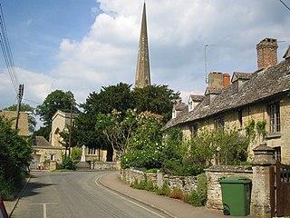 Kidlington village and civil parish in Cherwell, Oxfordshire, England