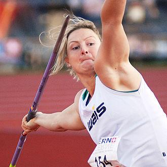 Kim Mickle - Kimberley Mickle at the 2012 Spitzen Leichtathletik Luzern