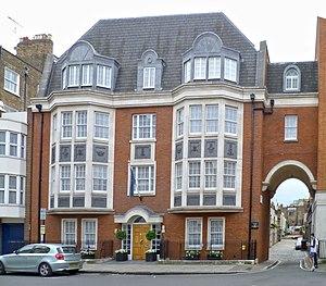 Suicide of Jacintha Saldanha - Buildings of the King Edward VII's Hospital in Devonshire Street, London.