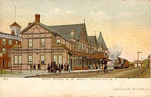 Kingston, New York railroad stations - The Kingston Union Station